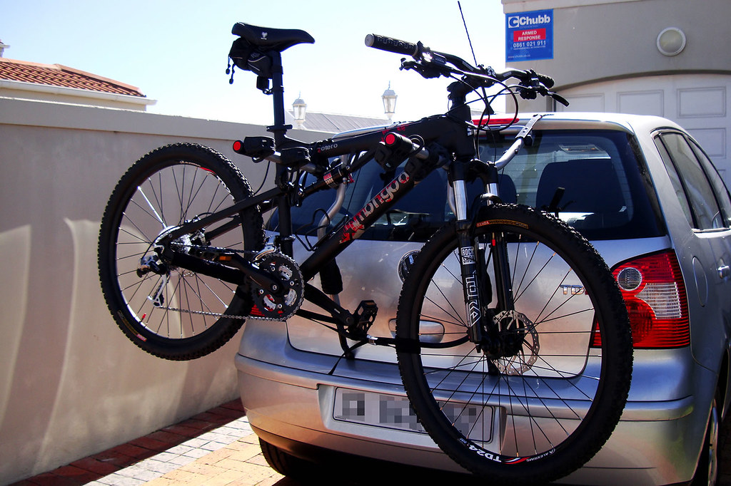 Cykelholder til bagklap